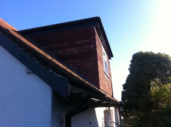 Felpham: Installation of dormer window in loft conversion