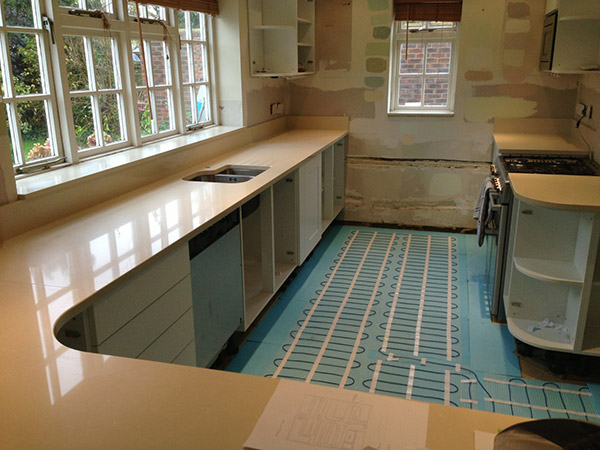 Runcton, near Chichester: Kitchen extension project
