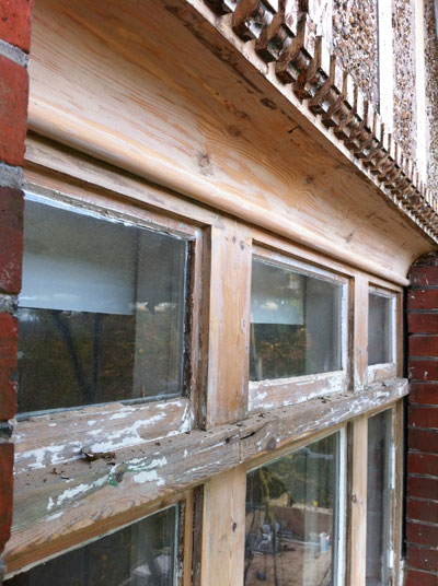 Arundel: Window restoration - During